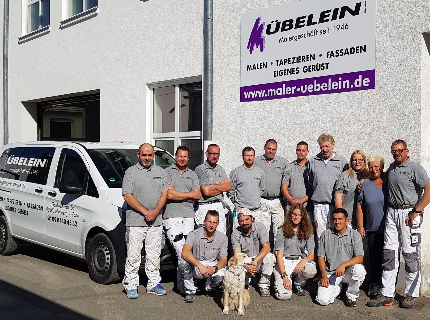 Maler Übelein Nürnberg Team